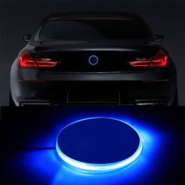 LOGO EMBLEMA BMW LED ROJO ILUMINADO
