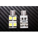 BOMBILLA LED 4 SMD CAN-BUS