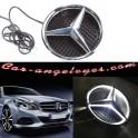 Iluminada LED frontal Estrella Emblema De Luz Para Mercedes Benz 2011-2017