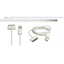 cable de datos para iPhone 4 a USB