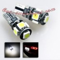BOMBILLA LED BASE T10 5 SMD