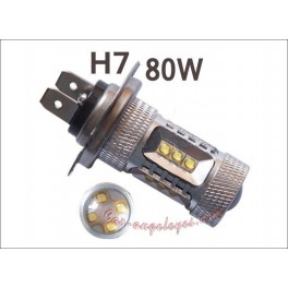 Kit de bombillas LED H7 80 Watios