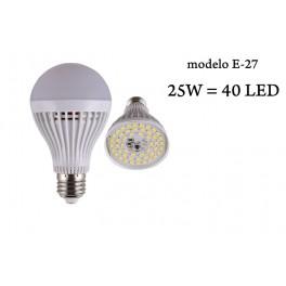 Bombilla LED E27 A60 25W