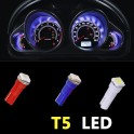 T5 bombillas para el tablero de instrumentos LED - SMD LED rojo